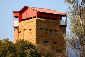 Anglo-Boer War Blockhouse at Harrismith, Free State